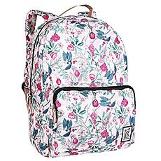 Рюкзак городской женский The Pack Society Classic Backpack Pink Botanical Allover