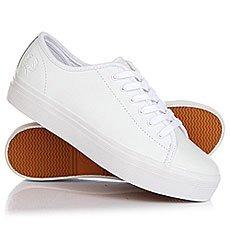 Кеды низкие женские Fred Perry Phoenix Flatform Leather White