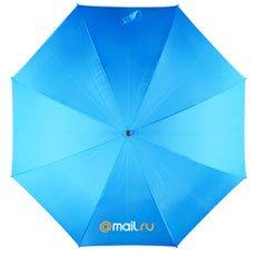 Зонт-Трость Радуга Mail.Ru Logo Голубой