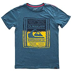 Футболка детская Quiksilver Ssslubyouwallup Indian Teal