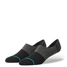 Носки низкие Stance Uncommon Solids Gamut Black