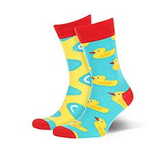 Носки средние Sammy Icon Furphy Yellow/Light Blue/Red