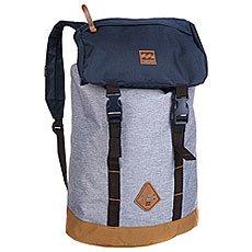 Рюкзак туристический Billabong Track Pack Grey Heather/Navy