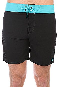 Шорты пляжные Billabong All Day Og Cut 17 Black/Cyan