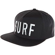 Бейсболка с прямым козырьком Rip Curl 100% Rad Snap Back Cap Black