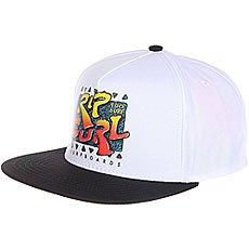 Бейсболка с прямым козырьком Rip Curl 100% Rad Snap Back Cap White