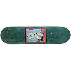 Дека для скейтборда Absurd SSS №1 Green 32 x 8 (20.3 см)