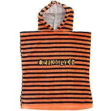 Пончо детское Quiksilver Hoody Towel Nasturtium