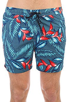 Шорты пляжные Quiksilver Paradisepoint15 Indian Teal