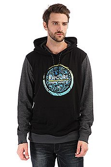 Толстовка кенгуру Rip Curl Eclipse Logo Fleece Black