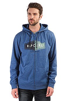 Толстовка классическая Rip Curl Hooded Diamond Fleece True Blue Marle