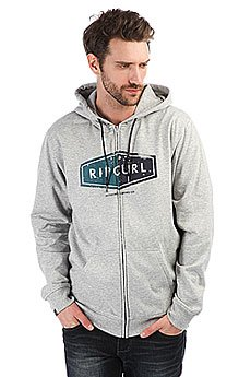 Толстовка классическая Rip Curl Hooded Diamond Fleece Cement Marle