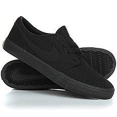Кеды низкие Nike Sb Portmore II Solar Cnvs Black