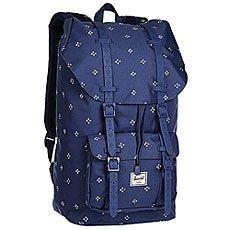 Рюкзак туристический Herschel Little America Focus/Twilight Blue Rubber