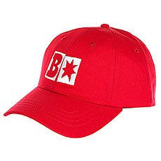 Бейсболка классическая DC Baker x Dc Decon Chili Pepper