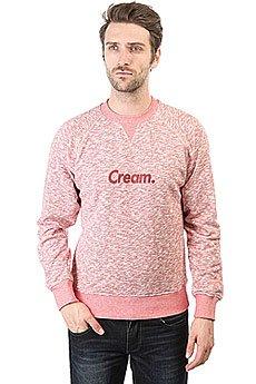 Толстовка свитшот Anteater Crewneck-cream Burgundy