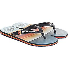 Вьетнамки детские Quiksilver Moloeverdayyt Blue/Orange