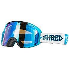 Маска для сноуборда Shred Amazify Roller - W4w Collab Black/Blue