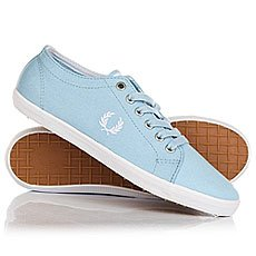 Кеды низкие Fred Perry Kingston Twill Light Blue