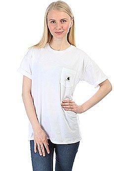 Футболка женская Carhartt WIP Carrie Pocket White