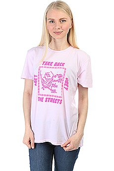 Футболка женская Obey Take Back The Streets Pink