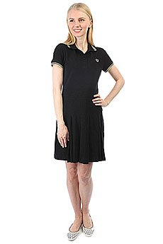Платье женское Fred Perry Pique Tennis Dress Black