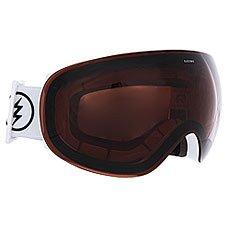 Маска для сноуборда Electric Eg3.5 Gloss White+Black/Brose