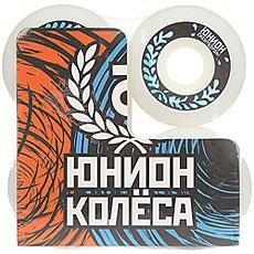 Колеса для скейтборда Юнион Water Ф5 White/Black/Light Blue 98A 50 mm