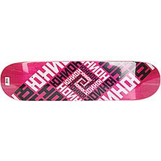 Дека для скейтборда Юнион Skateboard Team Pink 31 x 7.5 (19.1 см)