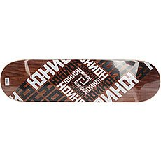 Дека для скейтборда Юнион Skateboard Team Brown 31.85 x 8.25 (21 см)