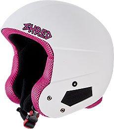 Шлем для сноуборда женский Shred Brain Bucket White/Pink