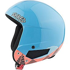 Шлем для сноуборда Shred Mega Brain Bucket Timber Blue/Rust
