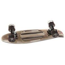 Скейт мини круизер Пластборд Black Grey 6 x 22.5 (57.2 см)