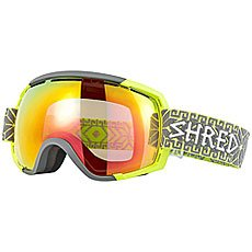 Маска для сноуборда Shred Stupefy Norfolk Yellow/Gray