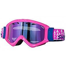 Маска для сноуборда Shred Tastic Forest Pink
