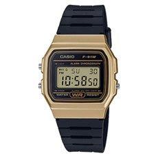 Электронные часы женские Casio Collection f-91wm-9a Gold/Black