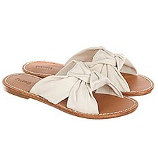Шлепанцы женские Soludos Knotted Slide Sandal Ivory