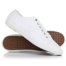 Кеды низкие Fred Perry Kingston Leather White