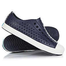 Кеды низкие Native Jefferson Regatta Blue/Shell White