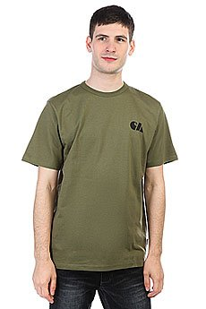 Футболка Carhartt WIP Military Training T-shirt Rover Green / Black
