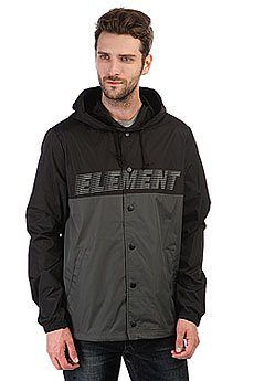 Ветровка Element Hooded Coach Tw Flint Black