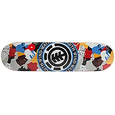 Дека для скейтборда Element Cut Out Seal Multi 31.5 x 8 (20.3 см)