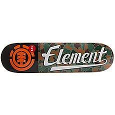 Дека для скейтборда Element Jungle Script Multi 31.75 x 8.2 (20.8 см)
