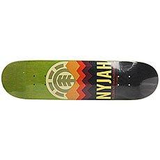 Дека для скейтборда Element Nyjah Ranger Green/Black/Multi 31.625 x 7.7 (19.6 см)