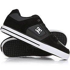 Кеды низкие DC Shoes Pure Se Black/Dk Grey