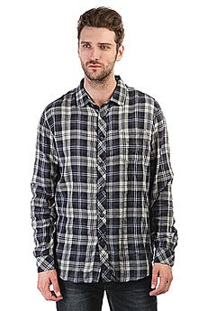 Рубашка в клетку Billabong Fremont Flannel Ls Silver Heather