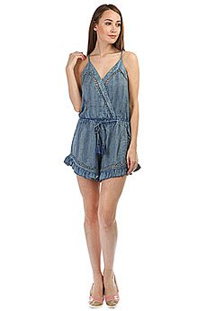 Комбинезон женский Rip Curl Las Dalias Romper Light Blue