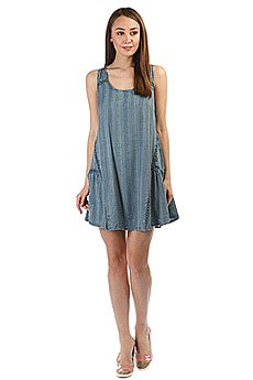 Платье женское Rip Curl Las Palmas Dress Light Blue