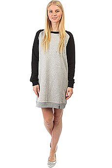 Платье женское Emblem Dress Skateboarding Black/Grey