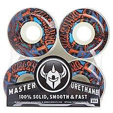 Колеса для скейтборда Darkstar Trippy Wheel Red/Blue 99A 52 mm